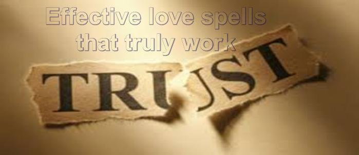 Quick and effective love spells that work
